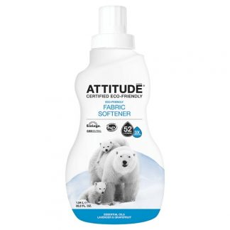 ATTITUDE Ekologiškas skalbinių minkštiklis Eco Laundry Softener su laukinių gėlių aromatu, 1,04 l