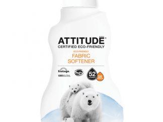 ATTITUDE Ekologiškas skalbinių minkštiklis Eco Laundry Softener su citrinų žievelės aromatu, 1,04 l
