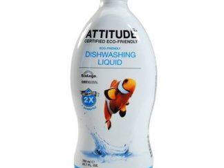 ATTITUDE Ekologiškas indų ploviklis Eco – Friendly Dishwashing Liquid Su lauko gėlių kvapu, 700ml
