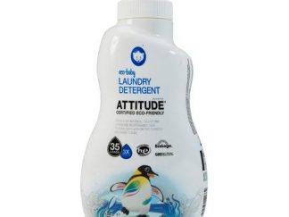 ATTITUDE Ekologiškas vaikų drabužėlių skalbiklis Eco Launry Detergent 3X Baby, 1,05 l