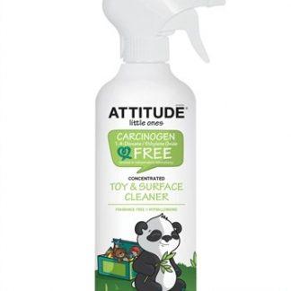 ATTITUDE Ekologiškas hipoalerginis žaislų ir vaikams pasiekiamų paviršių valiklis, 475 ml