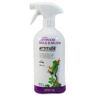 ATTITUDE ekologiškas vonios valiklis su citrinų žievelės eteriniu aliejumi, Eco Cleaner Bathroom, 800ml