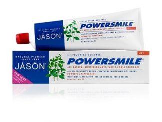 JASON Power Smile Natūrali dantų pasta gelis, nuo 2 metukų ir suaugusiesiems, 170g