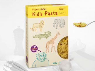 """Alb-Gold ekologiški makaronai vaikams be kiaušinių """"Safaris"""", 300 g"""