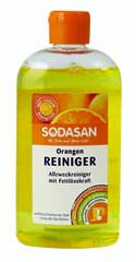 Sodasan ekologiška universali valymo priemonė su apelsinų pieneliu, 500ml