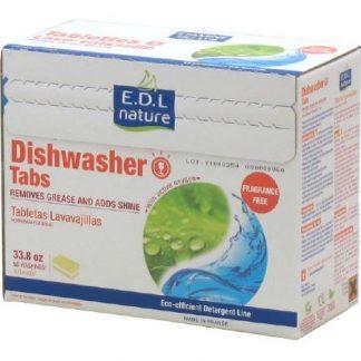 EDL NATURE Ekologiškas tabletės indaplovėms, 50vnt