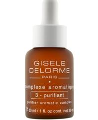 GISELE DELORME N°3 - PURIFIANT Aromatinis kompleksas serumas kūnui, drenuojamasis, detoksikuojamasis, 30ml