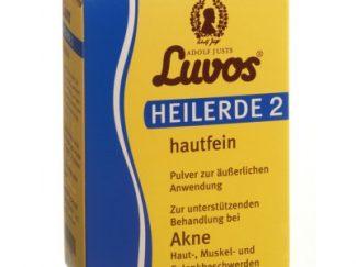 LUVOS Heilerde 2 hautfein - Natūralus molis išorinėms procedūroms, nuo aknės, nuo alergijos, nuo sumušimų, 480 g