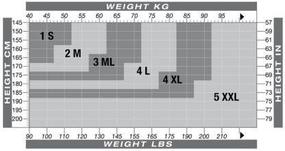SOLIDEA / SILVER WAVE LONG / timpos nuo celiulito, nuo tinimo, 5 spalvos, 6 dydžiai-761