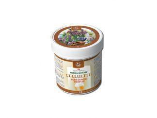 """HERBAMEDICUS - CELLULITIS balzamas, celiulito """"Apelsino žievelės"""" efektui mažinti, 250ml"""