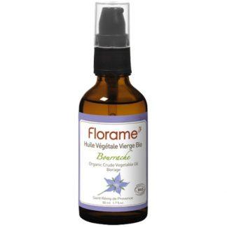 FLORAME / ekologiškas Agurklių augalinis aliejus, regeneruoja ir atjaunina odą, nuo egzemos, nuo strijų, 50ml