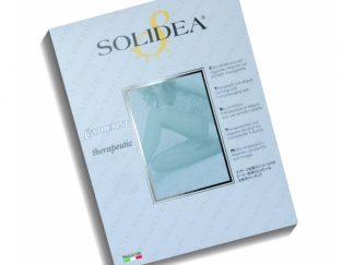 SOLIDEA Catherine Ccl.1 / terapinės ilgos kojinės su elastine juosta, juoda, kūno spalva, 5 dydžiai